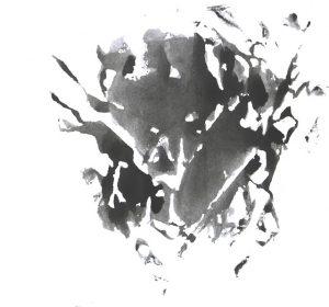黒いカビの汚れ