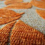オレンジのカーペット