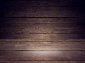 こげ茶色の床