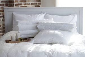 白いふわふわの枕