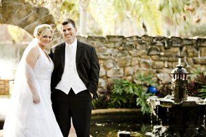結婚式の夫婦