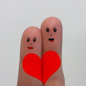 指人形の夫婦