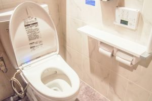 きれいで清潔なトイレ