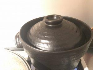 土鍋から出る蒸気