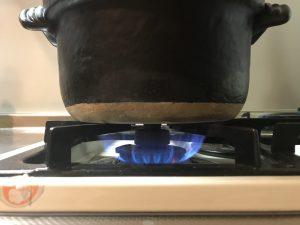 米を炊くときの火加減