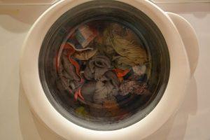 汚れがたまった洗濯物