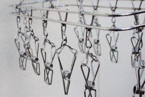 アルミの洗濯バサミ