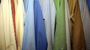 クローゼットの衣類