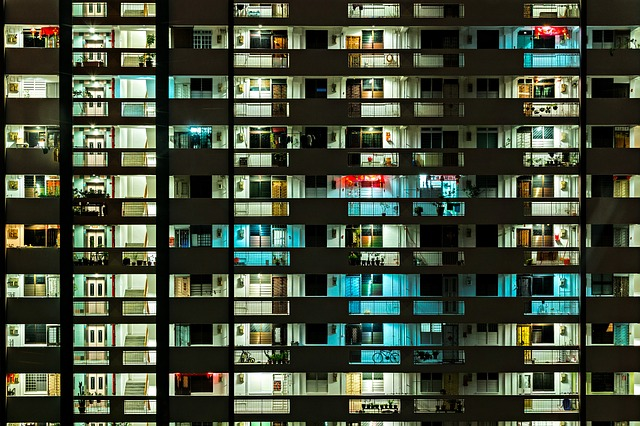 一人暮らし用のマンション