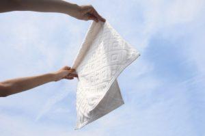 タオルの干し方