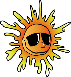 熱を持った太陽