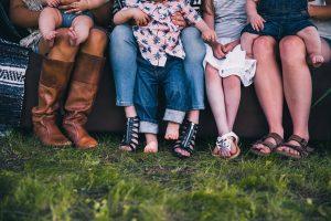 家族の靴の収納