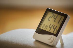 部屋の温度と湿度